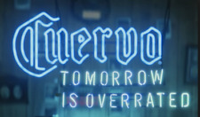 "New Cuervo Tomorrow Is Overrated Neon Light Sign 24""x20"" Beer Bar Lamp Poster"