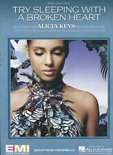Try Sleeping With A Broken Heart - Alicia Keys - 2009 Sheet Music