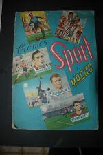 ALBUM SPORT MAGICO ED FHER 1955 LAMPO FIGURINE TRIDIMENSIONALI   82 SU 128 + 3