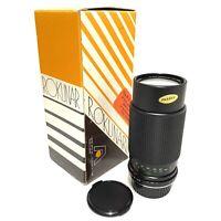 Boxed Aetna ROKUNAR MC Auto 80-200mm 1:4.5 Lens *Immaculate*