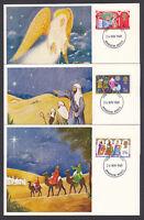 1969 Christmas PHQ Maximum Postcard Set Windsor Berks FDI Great Britain GB stamp