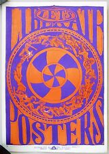 1967 Poster: Let's Liberate Posters.  Art by David Hodges. Blessed Trinity.