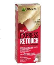 Garnier Express Retouch Root Touch Up Colour Grey Hair Concealer Light Blonde