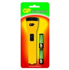 Torcia in ABS a Batterie ( 2 x R06 ) colore Giallo GP