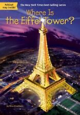 WHERE IS THE EIFFEL TOWER (2017) NEW children's book travel Paris France history