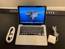 """Apple MacBook Pro13"""" 500GB HDD. Intel i5 / 8GB of RAM. Mac OS X Catalina 2019"""