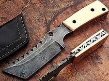 """Custom Made Damascus Steel W/ Solid Copper,Handle 8"""""""