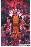 Nick Bradshaw & Laura Martin SIGNED Wolverine X-Men Nightcrawler Art Print