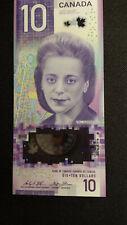 New Polymer Canadian Money 2018 Bank of Canada - $10 Ten Dollars Uncirculated