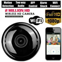 HD 1080P Wifi Security Cameras 360 Degree Panoramic Fishye Home Baby