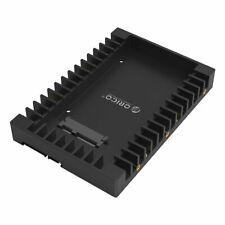 2.5 to 3.5 Hard Drive Adapter HDD SSD Mounting Bracket Tray SATA III Interface