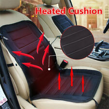 Car Heated Seat Cushion Cover 12V Heating Heater Warmer Pad Winter Thickening