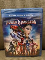 Saban's Power Rangers Blu Ray  & DVD (2017) w/DIGITAL!!!  **no slipcover**