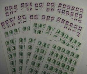 1996 Rußland; 360 Serien Europa/Frauen, postfrisch/MNH, MiNr. 499/500, ME 1980,-