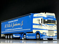 "SCANIA S HIGHLINE CS20H CURTAINSIDE TRAILER ""TRANSPORT JOCHEMS"" WSI TRUCK MODELS"