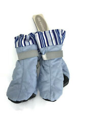 New listing Dog Shoes Companion Road Sport Dog Boots Medium Blue Striped