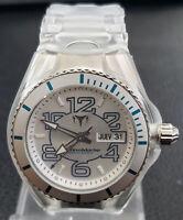 TechnoMarine Cruise 3-Hand Silver Dial Unisex Watch 108010 - Retail $295(45%off)