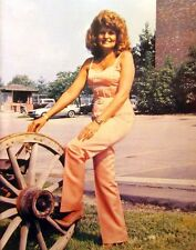 JEANNE PRUETT Satin Sheets sexy country clipping '80s color photo Grand Ole Opry
