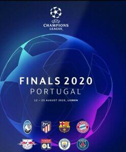 Champions League Finals Tournament  Programme  2020 - limited stock available