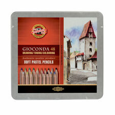 Koh-I-Noor Gioconda Coloured Artist's Pencil Sets in Packs of 6, 12, 24 and 48