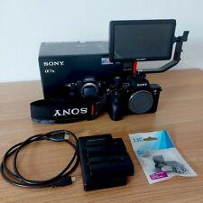 Sony Alpha A7 III Fotocamera (Solo Corpo)+ Monitor Esterno+ Batterie