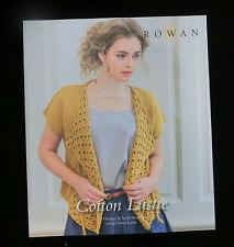 Rowan Cotton Lustre: 13 Modellanleitungen, englisch, Design by Sarah Hatton #007