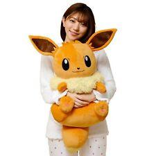 Takara Tomy Pokemon Relaxing Big Mocchiri Plush Eevee Doll 70cm Kawaii NEW