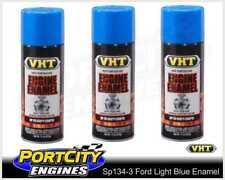 VHT Engine Enamel Ford Light Blue Spray Paint 312g High Temp 3 Cans SP134-3