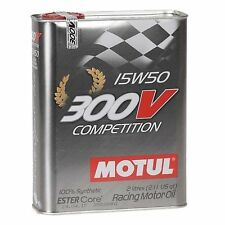 MOTUL olio di alta lubrificazione 300V COMPETITION 15W50 5L