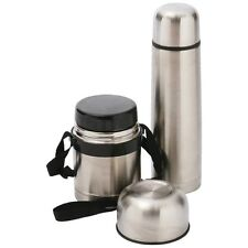 Maxam High-Quality Stainless Steel Hot and Cold Thermos Lunch ~ Meal Set