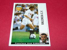FRANCISCO JOSE CAMARASA VALENCIA CF PANINI LIGA 95-96 ESPANA 1995-1996 FOOTBALL