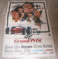 A1-Filmplakat - GRAND PRIX - JAMES GARNER,EVA MARIE SAINT,YVES MONTAND