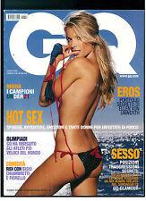 GQ ITALIA 59 AGOSTO 2004 VERONICA VAREKOVA ELLEN VON UNWERTH OLIMPIADI ATENE