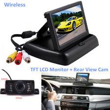 Wireless Car Reverse Rear View Backup Night Vision Camera Kit+HD TFT LCD Monitor