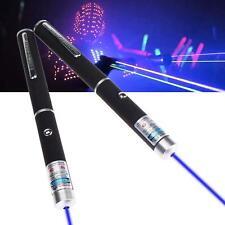 2pcsX Powerful Violet Purple Blue Laser Lazers Pointer Lights Pen 405nm Beam MT