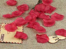 100 pétalos de rosa para bodas conos cucuruchos decoración de bodas