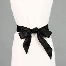 PU Leather Womens Ladies Wrap Around Tie Corset Cinch Waist Belt Band Casual