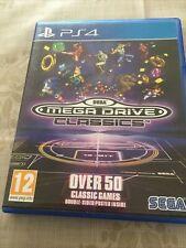 Sega Mega Drive Classics PS4 - FREE POSTAGE - COMPLETE - VGC -