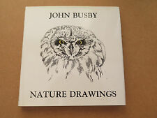 Nature drawings by John Busby (1993)
