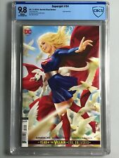 Supergirl 34 - CBCS 9.8 - Chew Variant Cover and Krypto Appearance