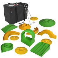 Mobiles Minigolf, Minigolf Set, Minigolf für zuhause, Tragbares Minigolf, Indoor