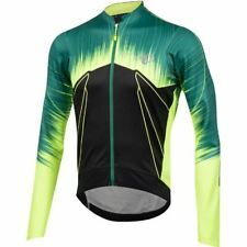 Men's PRO Pursuit Wind Thermal Jersey, PRO Pepper Green, Size XL - PEARL iZUMi
