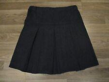 next girls black pleated school skirt  age12 years