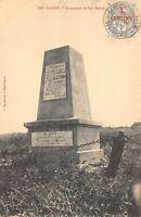 CPA MAROC BEN SLIMAN MONUMENT DE BER RECHID (cliché pas courant