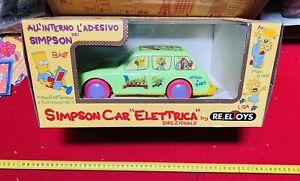 REEL TOY SIMPSON CAR ELETTRICA  ,NUOVISSIMA