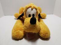 "Disney Pluto  Plush Stuffed Animal Toy Doll 17"" Disney Store"