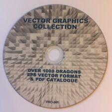 1000+ Grafica DRAGO immagini vettoriali VINILE PLOTTER CUTTER DVD i file EPS Tatuaggio