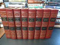 Easton Press JEFFERSON AND HIS TIME & WRITINGS 8 vols. Dumas Malone leather
