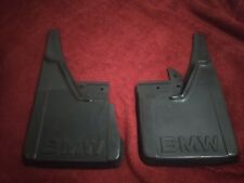 NOS Genuine BMW E30 Early Euro Chrome Rear Mud Flaps Guard Without Hardware