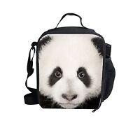 Cute Panda Thermal Insulated Lunch Bag Cooler Kids Box Bento School Picnic Girls